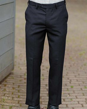 Thermal Flexi Waist Trousers - Navy