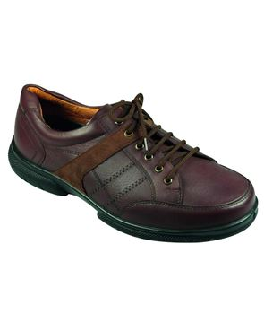 DB Wider Fit Brown Lace-up shoe