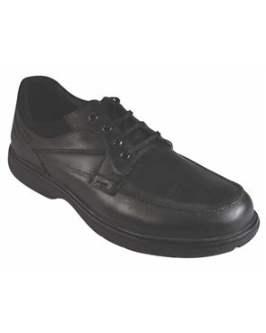 Padders Black Lace Up Shoe