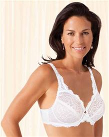Playtex Flower Lace Bra Underwired