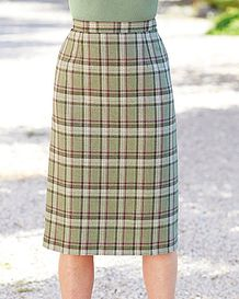 Langholm Straight Skirt