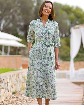 Remi Floral Pure Cotton Dress