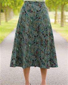 Ida Silky Cotton Skirt
