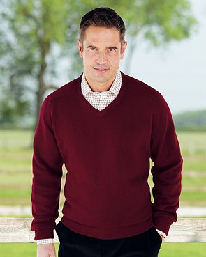 Lambswool V Neck Sweaters